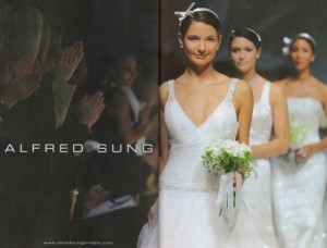 alfred sung bridal fashion week1