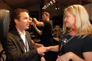 rick mercer at fashion week